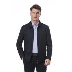 黑色经典夹克