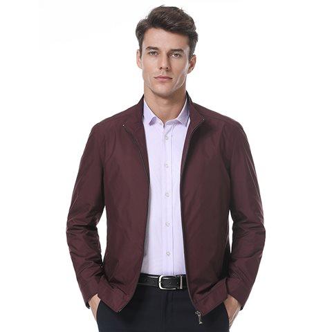 2017新品男士商务夹克