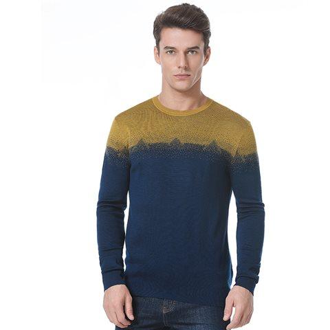泥灰岩纹理针织衫