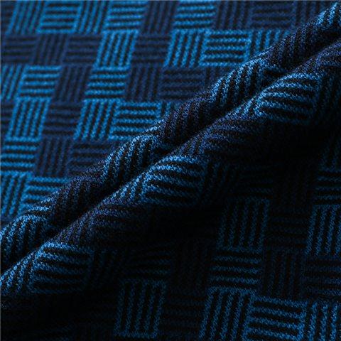 海军蓝V纹马球衫