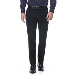 Black slim fit trousers
