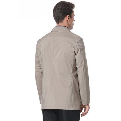 2017montagut中长款男士风衣外套