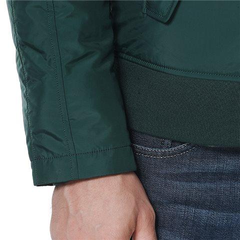 摇粒绒领口夹克